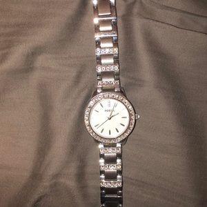 Women's fossil watch.